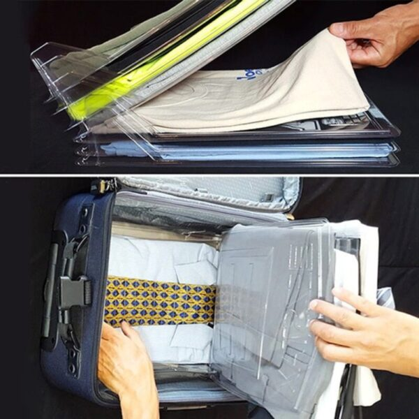 EFFORTLESS SHIRT ORGANIZER – KEEPS YOUR SPACE NEAT & TIDY