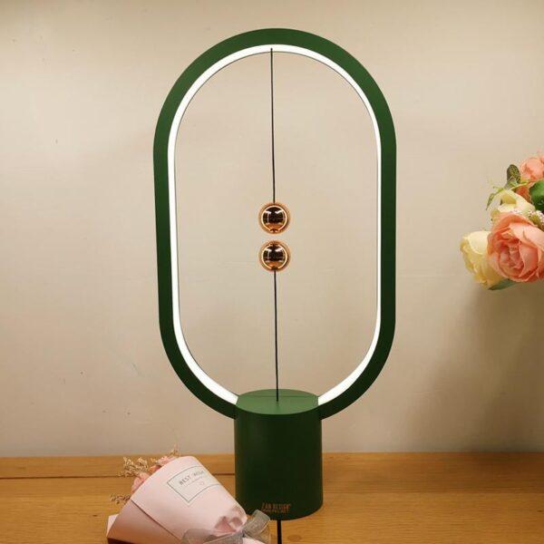 Intelligent Magnetic Suspension LED Lamp