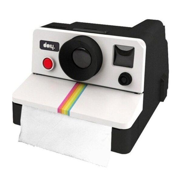 Polaroid Toilet Paper Holder