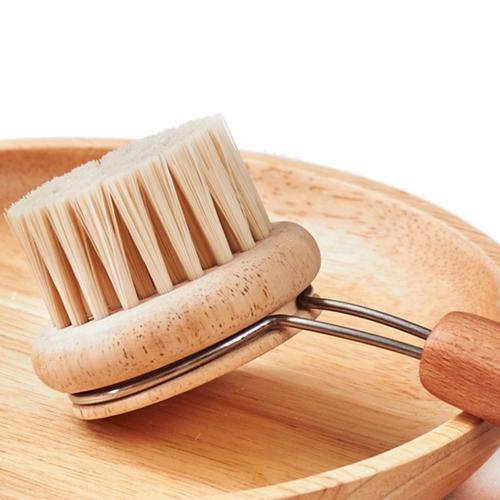 Natural Kitchen Scrub Brush