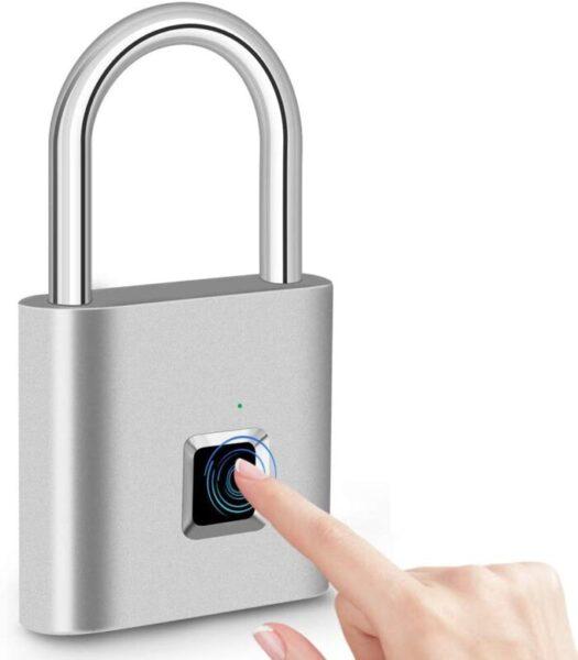 Keyless Anti-Theft, Security Digital Lock Portable for Locker, Gym, Door, Luggage, Suitcase, Handbags