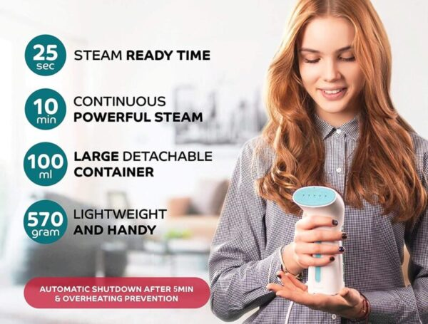 Steamer for Clothes Travel and Home