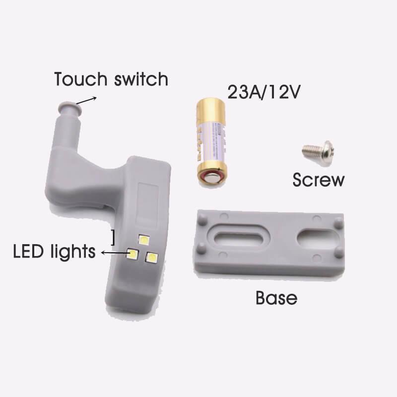 Hydraulic Damping Led Hinge Light, Cabinet Light
