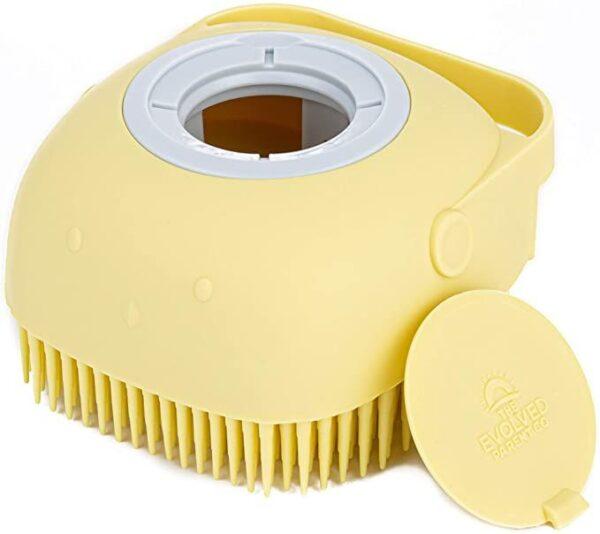 The Scrub-a-DubDub Baby Bath Scrubber – Ultra-Soft Silicone Brush