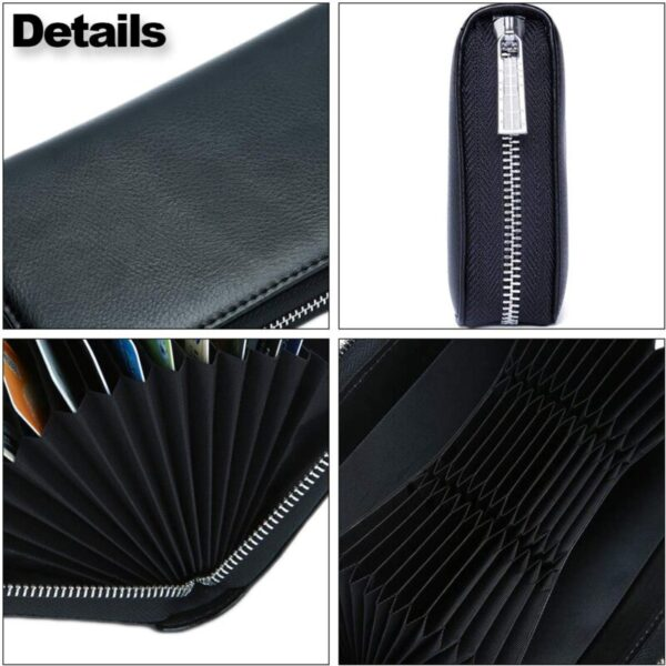 EXTRA-LONG WALLET WITH 36 CARD SLOTS – SUPER FASHIONABLE!