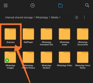 whatsapp-status-folder