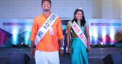Mr Rotasia Muthu Prassanna, D 3201, and Miss Rotasia Rachel Jayaseelan, D 3190.