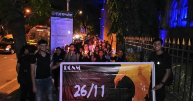 Candle-light march to mark the 10th anniversary of the 26/11 Mumbai terror attack.