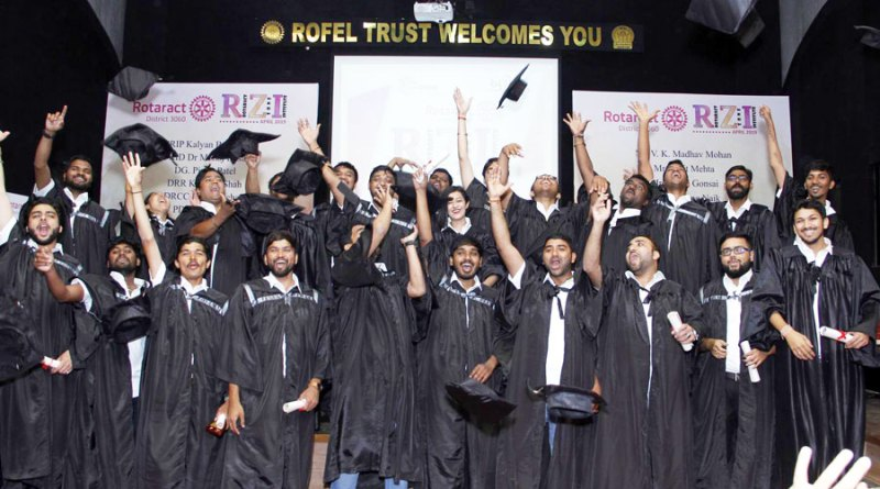 DRREs after the convocation ceremony.
