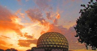 The Matrimandir in Auroville.