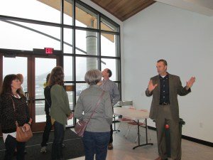 Chris Hartley Shows Us The Foyer