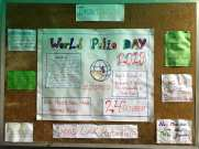 inter house polio chart decoration interact club of l.r.i school 15