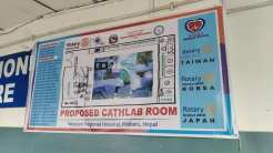 proposed rotary heart care center cathlab rotary club of pokhara 1