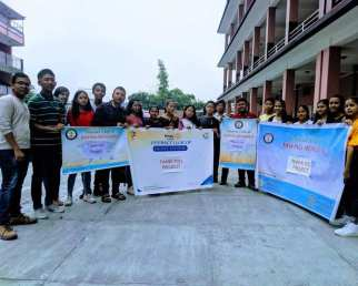 thank you project interact club of bishnu memorial and interact club of depot 1