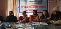 basic sewing training course phase 2 rc biratnagar downtown 2