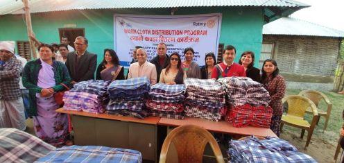 blanket distributed rc biratnagar downtown 1