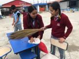 cleaning camp interact club of vishwa adarsha school 2