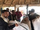 distribution of blankets rc kantipur 7