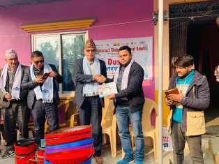 dustbin distribution rac butwal 3