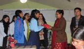 sanitary pad distribution rc dhulikhel nepal 4