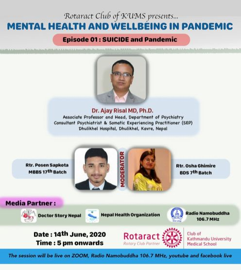 MENTAL HEALTH AND IT'S WELL BEING IN PANDEMIC