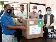 PCR handover to mechi zonal Hospital - region 7 clubs (1)