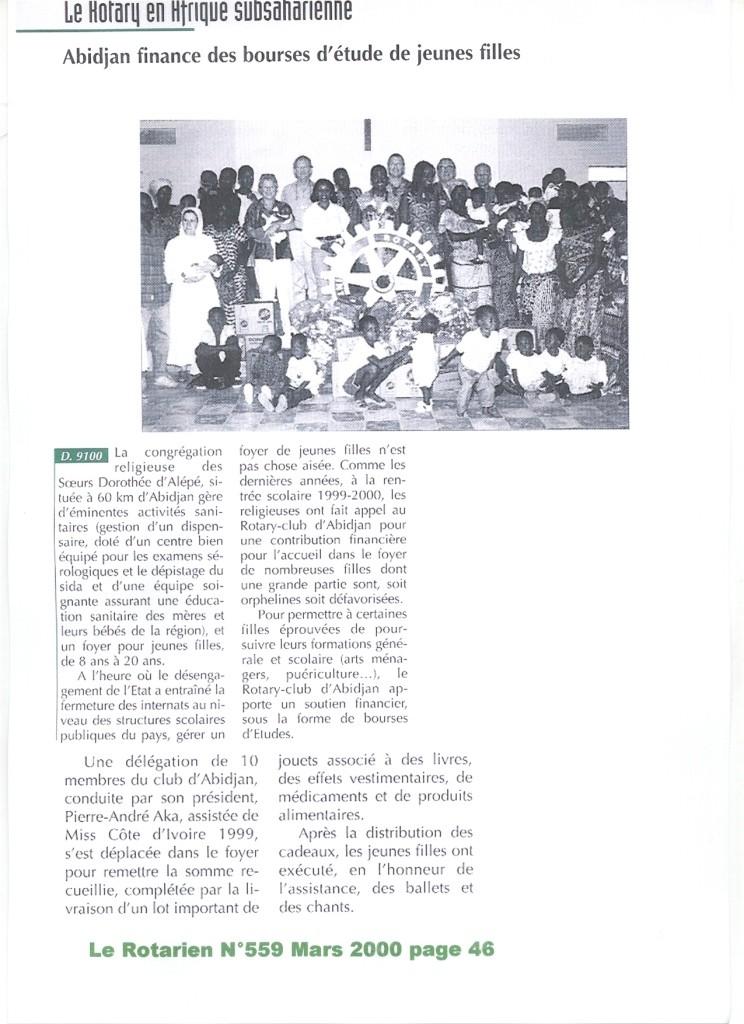 ROTARY CLUB ABIDJAN
