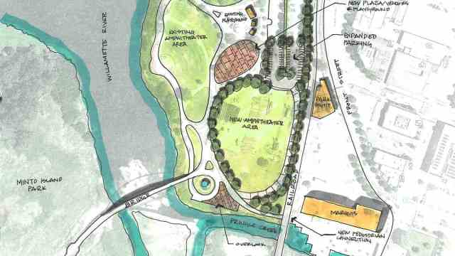 City of Salem and Rotary Club of Salem Announce New Riverfront Location for Amphitheater Project