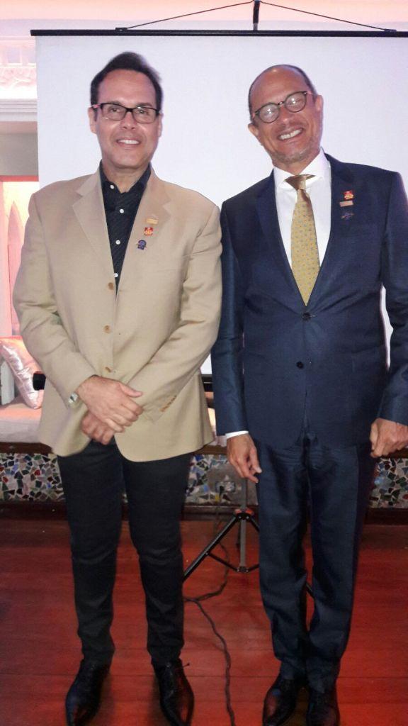 Frank Ceara y José Antonio Rodríguez