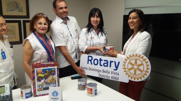 Ma Cristina Mere de Farías, Cristian Leguizamon, Mayra Cancel y Berenice Mendez