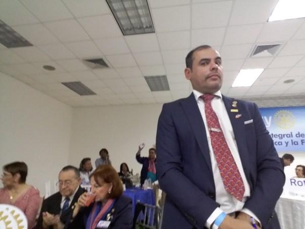 Presidente 2016-2017 Rotary Santo Domingo Bella Vista, Cristian Leguizamón