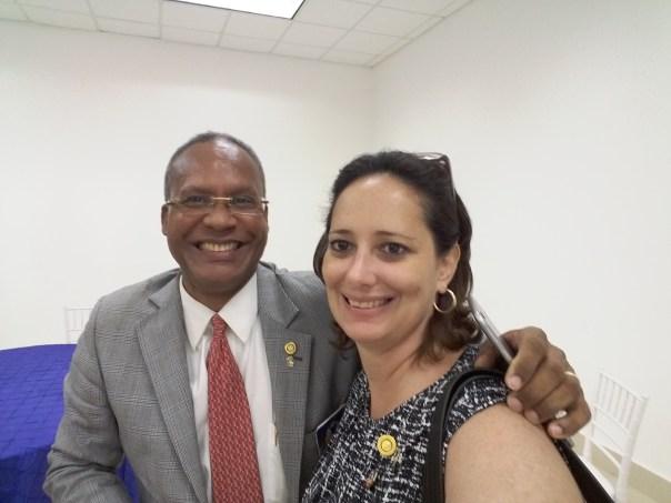 Gobernador 16-17 Distrito 4060 - Roberto Ortiz y Rosa Polanco del Bella Vista