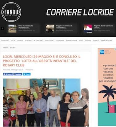 Hermanamiento Rotary Club Locri y Rotary CLub Santo Domingo Bella Vista