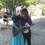 Interact Santo Domingo Bella Vista visita Hogar Renacer en Villa Mella