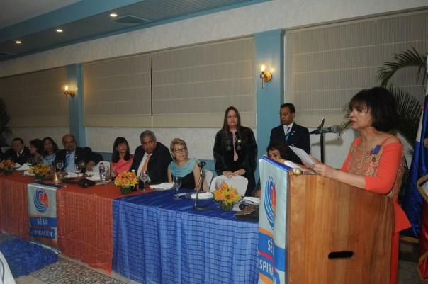 Emma Valois Presidente -Directiva rotary Bella Vista 2018-2019