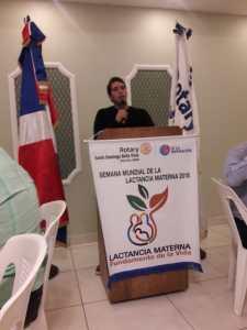sesión rotaria 8 agosto 2018 - palabras de Jose Miguel Alonso