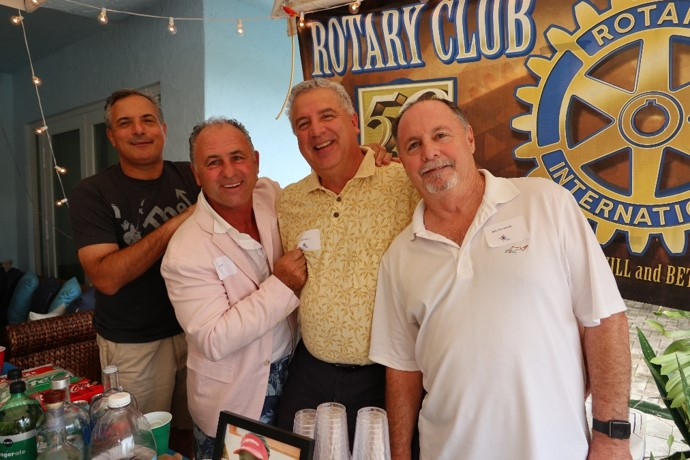 Barmen Jonathan Sherry, Doug Giordano, John Mollica, Jr., Mike Massarella