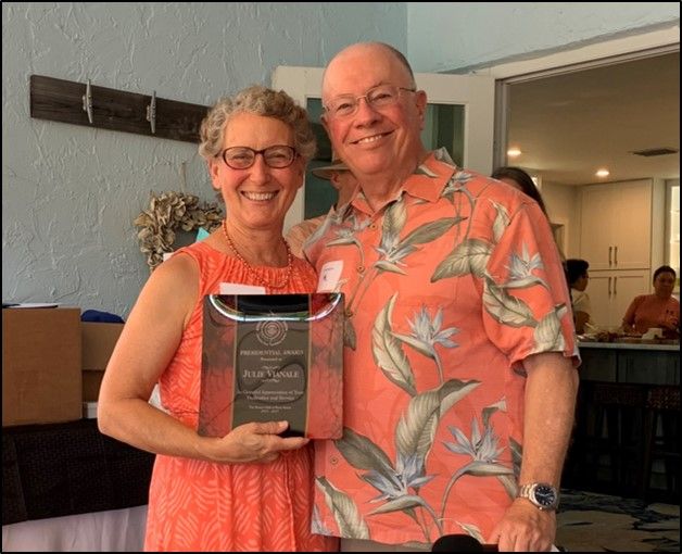 Julie Vianale – President's Award for Outstanding Service
