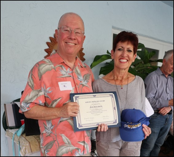 Jan Savarick – Service Above Self Award