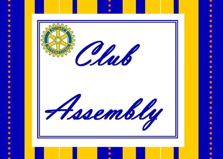 Image result for Club Assembly meeting images