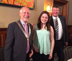 President Douglas, Laura & her Dad David