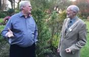 Bob with President Douglas