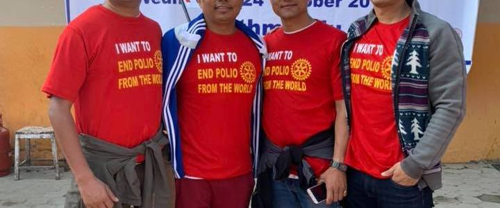 24 Oct World Polio Day Rally