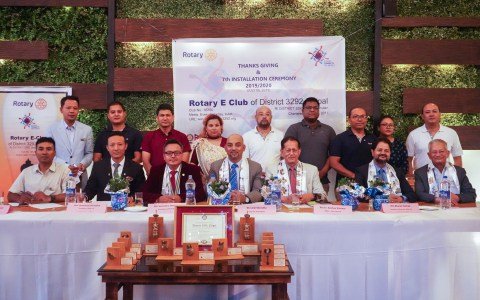 Thank Giving and 7th club Installation -6th July 2019