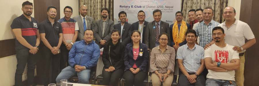 District Governor's Official Club Visit and 3rd Club Assembly 2019-20