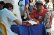 Em Lima Duarte mais de 200 moradores fizeram o teste.