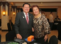 Charter Member and Past President Manny Villa with spouse Vicky.