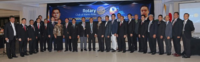 New Rotary Foundation contributors for RY 2015-2016 pledge a total of US$15,000.