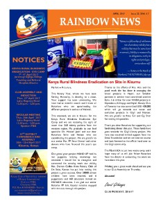 thumbnail of RAINBOW NEWSLETTER ISSUE 32 – APRIL 2017