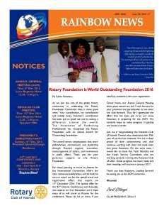 thumbnail of RAINBOW NEWSLETTER ISSUE 20 – DECEMBER 2016